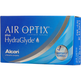 Контактные линзы Air Optix plus HydraGlyde 6pk